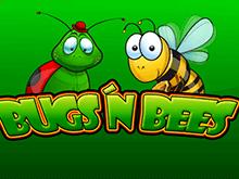 Денежный бонус в автомате онлайн Bugs & Bees